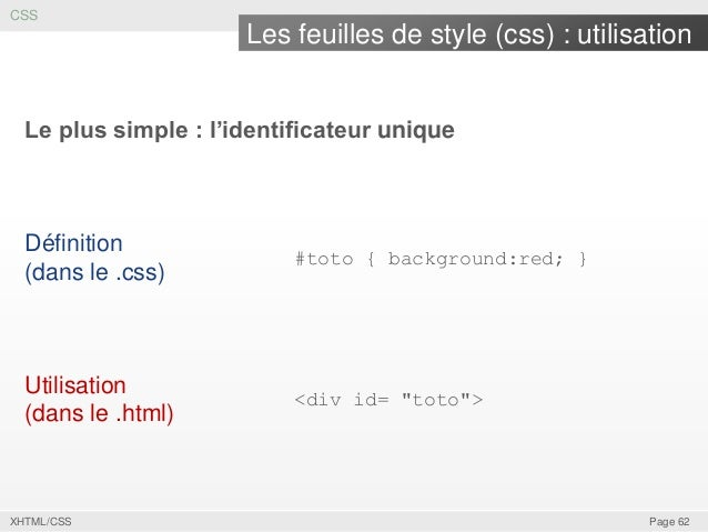 XHTML CSS Page 61 62