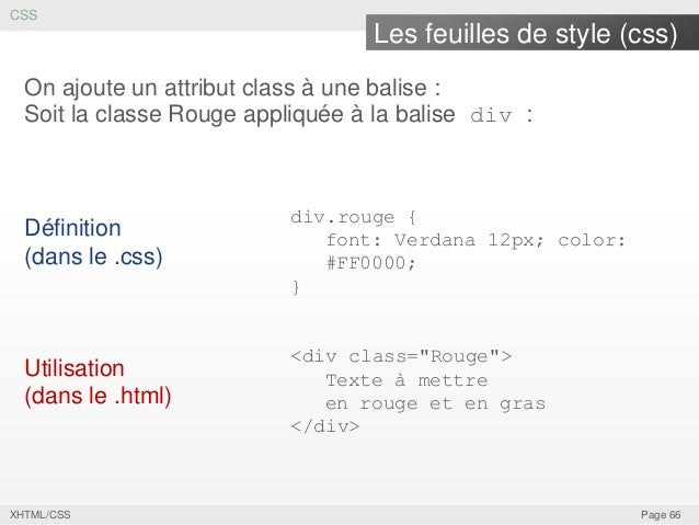 XHTML CSS Page 65 66