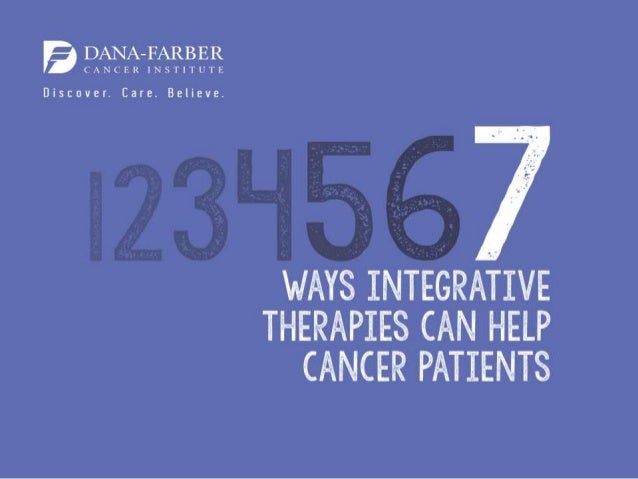 More Information: http://blog.dana-farber.org/insight/2016/01/cancer- conversations-podcast-episode-1-integrative-therapie...
