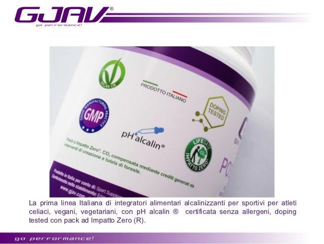 Integratori alimentari per sportivi certificati Vegan Ok, formulati senza allergeniidonei per atleti vegani e vegetariani.
