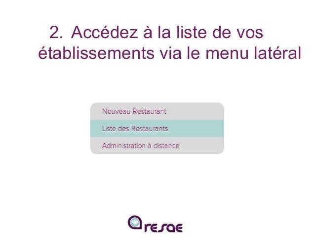 Intégrez le module de réservation RESAE à votre site internet Slide 3