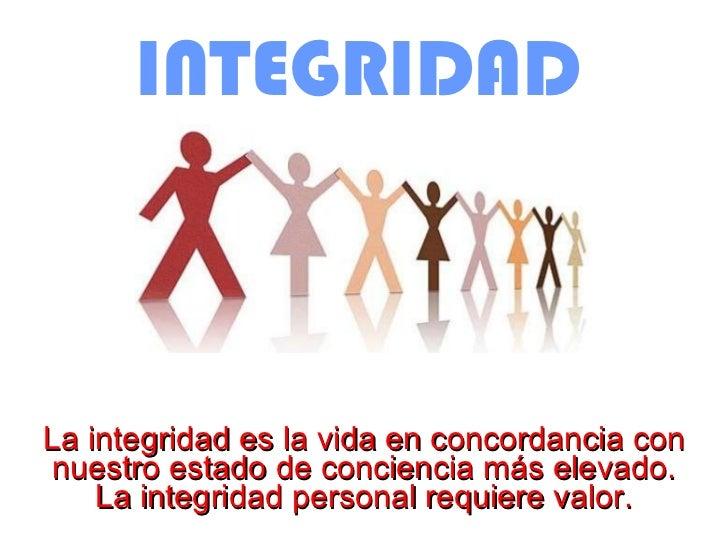 Resultado de imagen para integridad