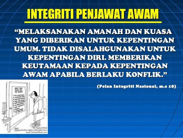Isu Integriti