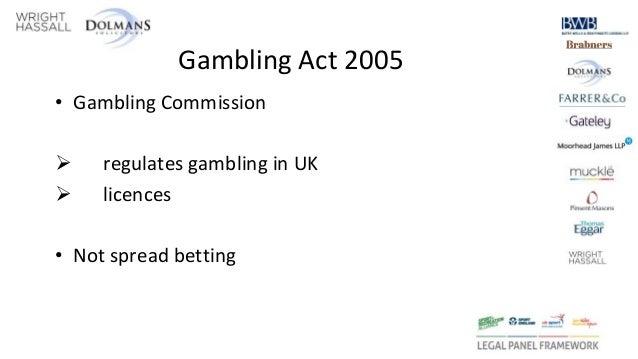 Uk gambling act of 2005