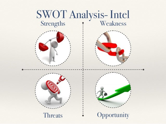 swot analysis of intel