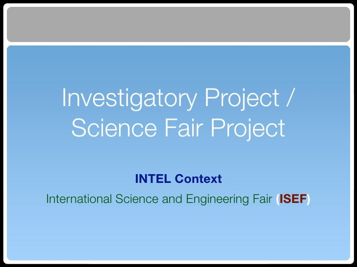 investigatory project botany Ideas for science fair projects can come from many sources, of course, but the   here for agricultural science fair projects can lead you to projects in botany,.