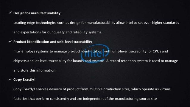 Marketing Plan of Intel