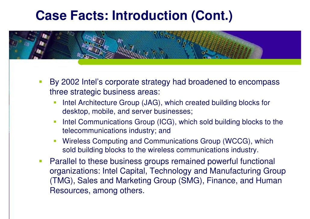 Intel Case Study | Case Study Template