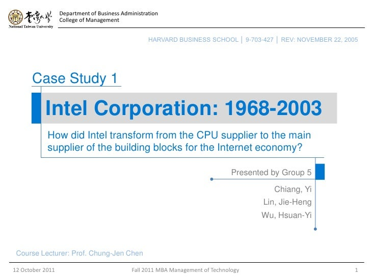 intel pentium case study Pentium fdiv: the processor bug that shook the world  this week we celebrate  the 20th anniversary of the fdiv bug, an error in the then-new intel pentium  processor  computer manufactures, engineer to engineer, based on data  analysis  the best samsung galaxy note 9 cases we've seen so far 4.