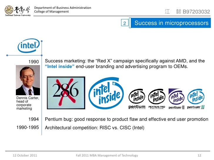 Intel: a case study in capacity planning and strategy