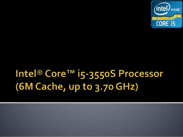  Introduction Specifications Memory Handling Processor registers Core i5 Cache Memory AdvancedTechnologies Conclusion