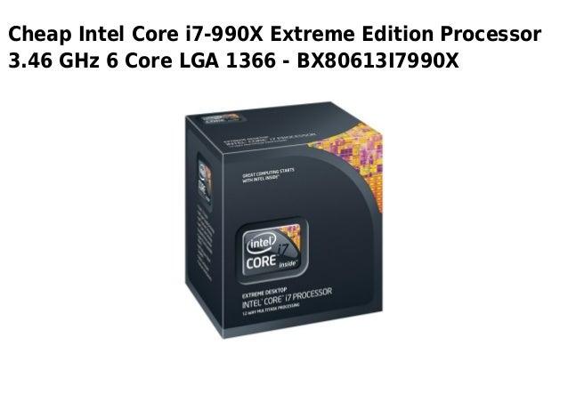 Cheap Intel Core i7-990X Extreme Edition Processor3.46 GHz 6 Core LGA 1366 - BX80613I7990X