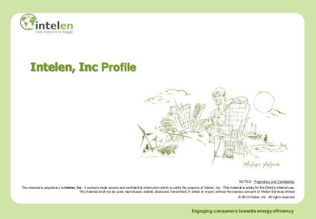Intelen, Inc Profile                                                                                                      ...