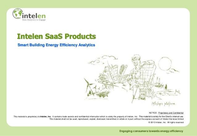 Intelen SaaS Products    Smart Building Energy Efficiency Analytics                                                       ...
