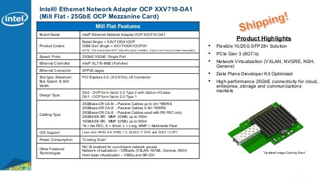 New Drivers: Chelsio N320E Server Adapter PXE Option ROM