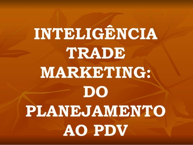 Inteligencia E Trade Marketing