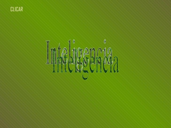 Inteligencia CLICAR