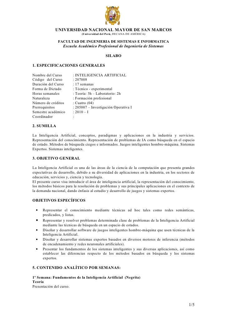UNIVERSIDAD NACIONAL MAYOR DE SAN MARCOS                               (Universidad del Perú, DECANA DE AMÉRICA)          ...