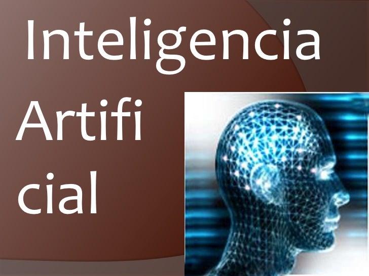 Inteligencia<br />Artificial<br />