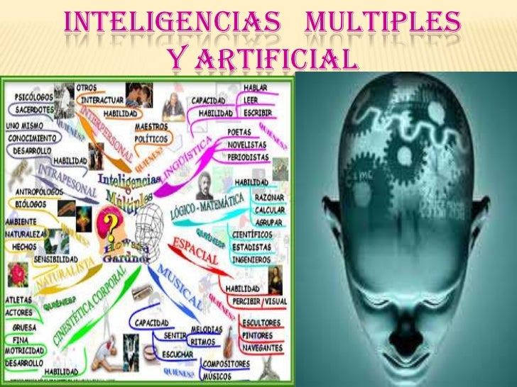 INTELIGENCIAS MULTIPLES       Y ARTIFICIAL