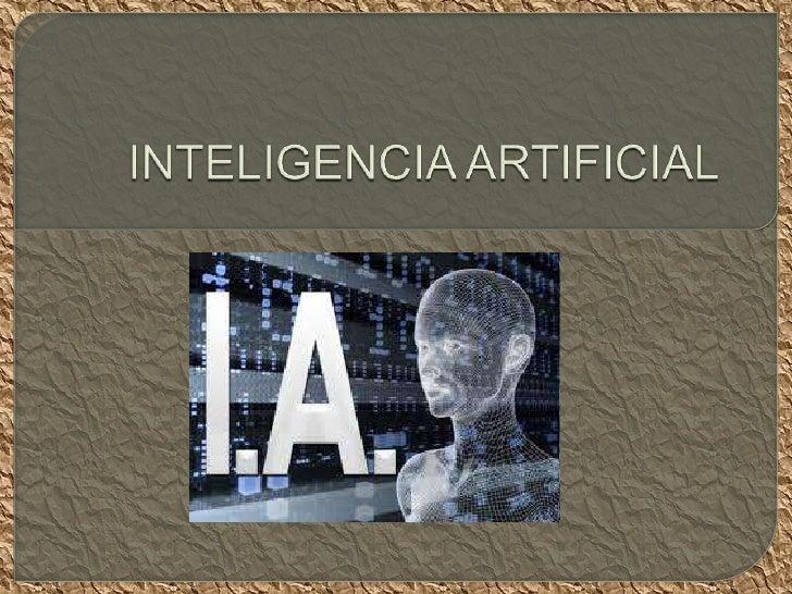    La inteligencia artificial es considerada una rama de la computación y    relaciona un fenómeno natural con una analog...
