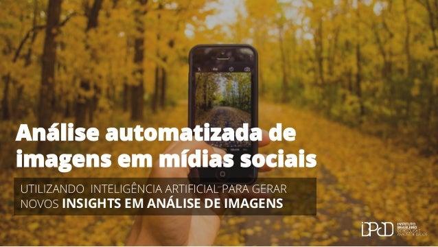INSIGHTS EM ANÁLISE DE IMAGENS