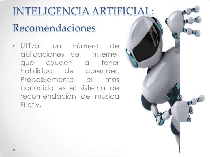 Inteligencia artificial presentacion