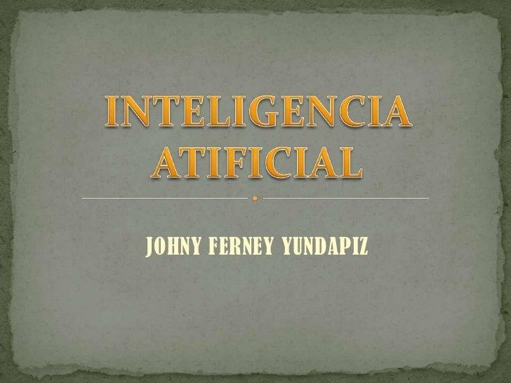 JOHNY FERNEY YUNDAPIZ