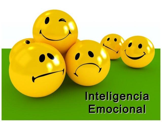 InteligenciaInteligencia EmocionalEmocional