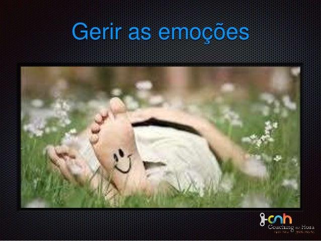 texto Gerir as emoções