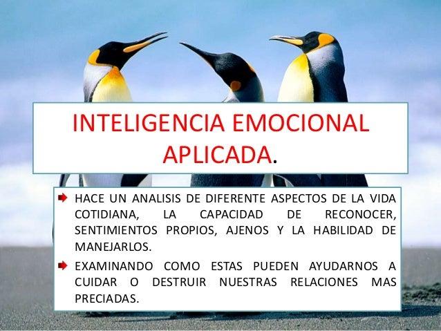 Inteligencia emocional aplicada