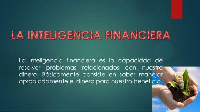 Inteligencia financiera Slide 2