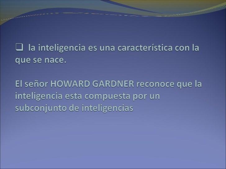 Inteligencia multiples Slide 3
