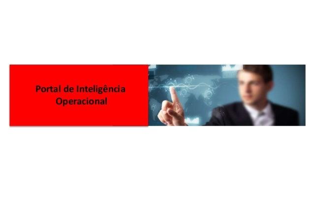 Portal de Inteligência Operacional