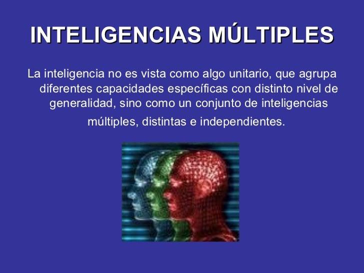 Inteligencias Múltiples Slide 3