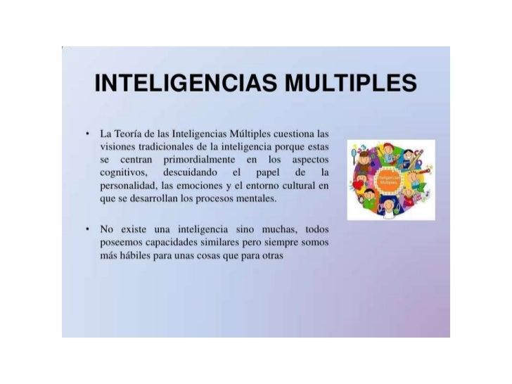 DEFINICIÓN DE INTELIGENCIA INTELECTUALEl CI o Cociente Intelectual es una estimación general de lacapacidad de los individ...