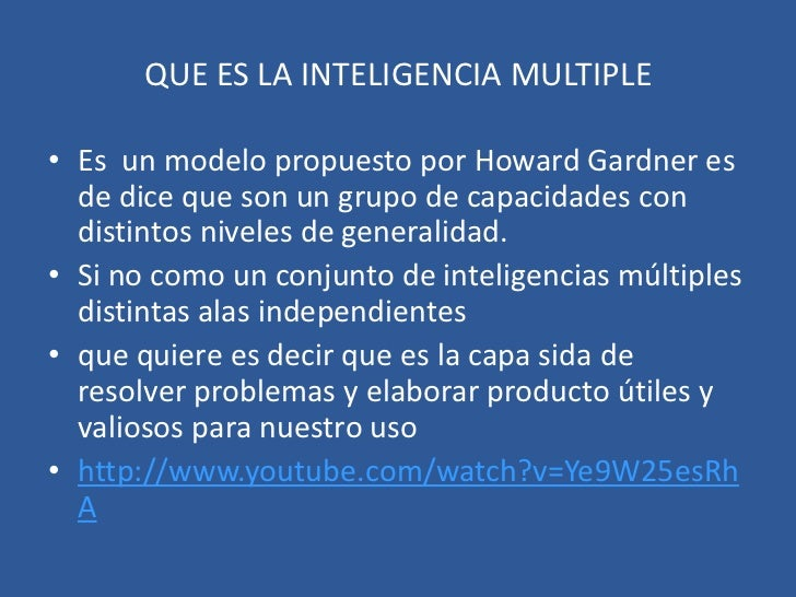 Inteligencias multiples 1 Slide 2