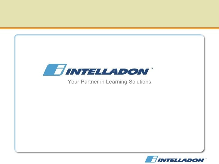 Your Partner in Learning Solutions