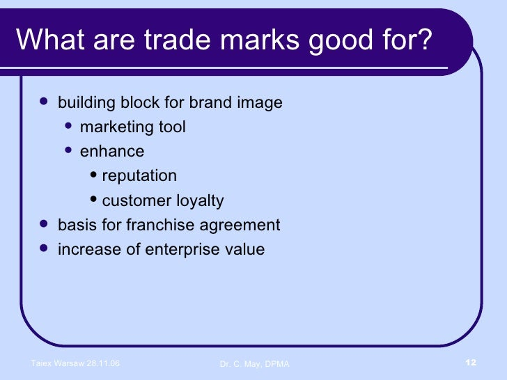 trade mark and intellectual property essay Read this essay on intellectual property and trade secrets come browse our large digital warehouse of free sample essays get the knowledge you need in order to pass your classes and more.