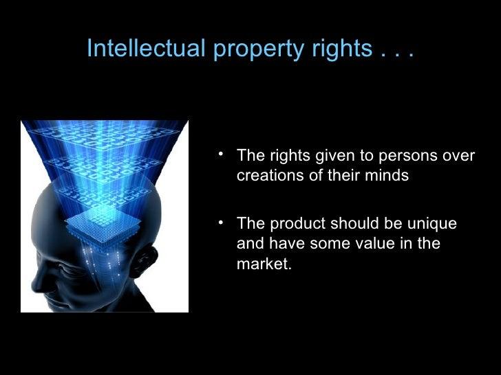 Intellectual property-...
