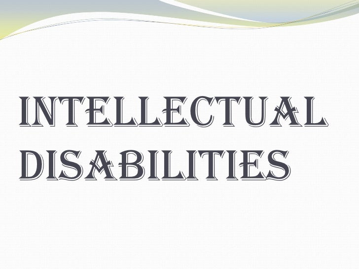 What is intellectual disability?