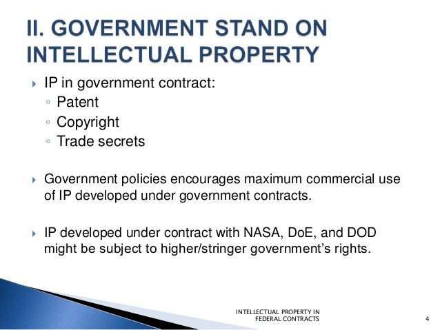 Policies Procedures To Protect Intellectual Property