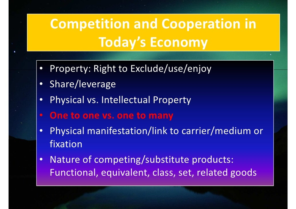 Right To Exclude Intellectual Property