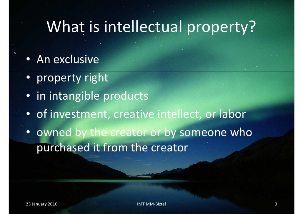 intellectual properly rights and e Under a strong intellectual property rights system, a balance is struck between rewarding the innovator and giving the public access to new product or technology.