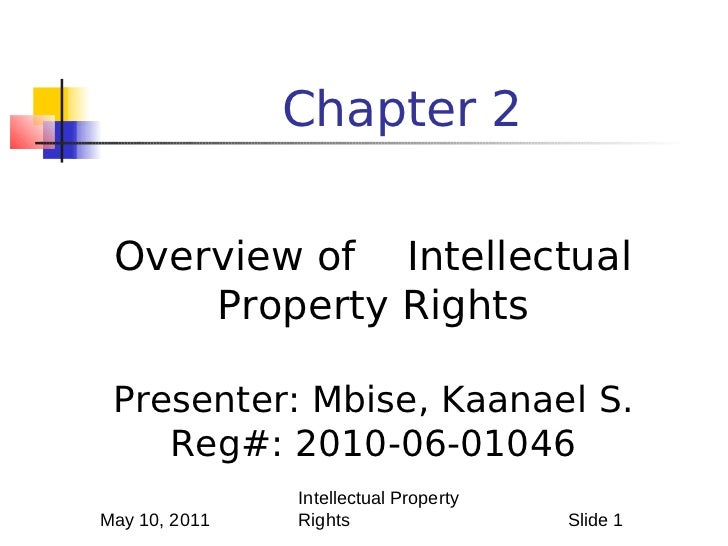 International Intellectual Property Law: Overview