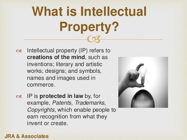 intellectual property copyrights Intellectual property law covers the protection of copyrights, patents, trademarks, and trade secrets, as well as other legal areas, such as unfair competition in effect, intellectual property laws give the creator of a new and unique product or idea a temporary monopoly on its use.