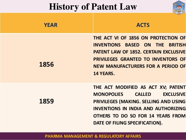 Intellectual property rights & Patent filing Procedures