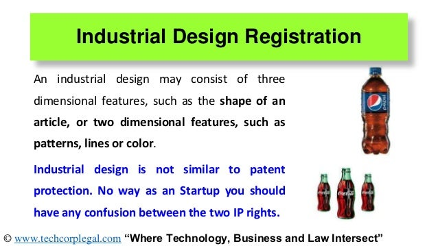 Intellectual property rights for startups in india for Industrial design startups
