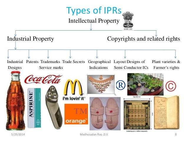 the various types of patent rights Enforcement of intellectual property rights:  intellectual property rights, various types of  it is within the types that could be protectable by a patent,.