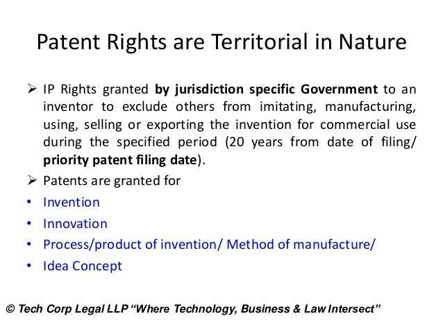 intellectual property patent application process